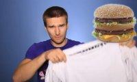 Test proszku Persil i wielkości kanapek z McDonalda i Burger Kinga