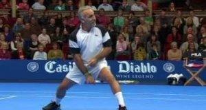 Zwariowany tenisista