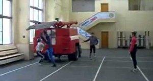 Niesamowicie szybka akcja strażaków