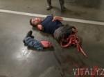 """Przerażający """"prank"""" - Masakra piłą motorową [+18]"""