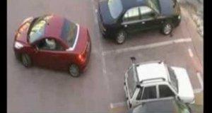 Zajęte miejsce parkingowe