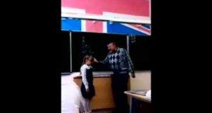 Agresywny nauczyciel dostaje za swoje