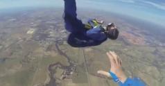 Atak padaczki podczas skoku ze spadochronem