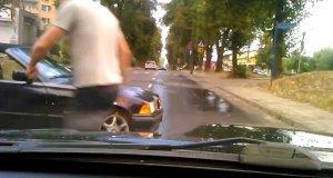 Nie do końca udany drift w BMW
