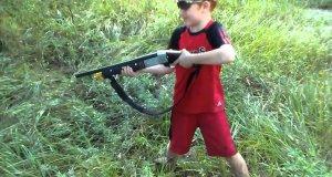 Dlaczego dzieci nie powinny strzelać ze strzelby