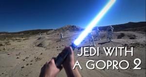 Jedi z Go Pro