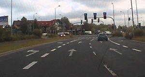 Szczeciński kamikadze przejeżdża na czerwonym
