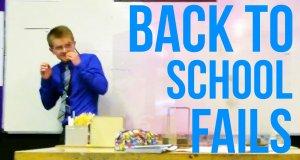 Największe wpadki z powrotu do szkoły