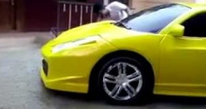 Pora umyć moje Ferrari