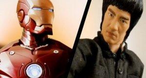Iron Man vs Bruce Lee
