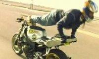 Kaskaderzy na motorze