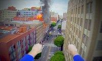 Superman z kamerą GoPro