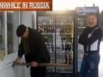 """Tymczasem w Rosji. """"Nowoczesne"""" płatności na stacji benzynowej"""