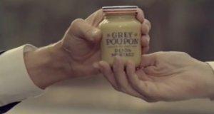 Reklama musztardy w brytyjskim stylu