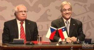 Czeski prezydent kradnie długopis