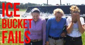 Największe wpadki z wyzwaniem ALS Ice Bucket