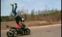 Wypadek na motorze