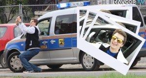Samojebka ze strażą miejską