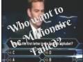 Pierwsza litera alfabetu za milion dolarów