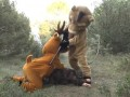 Żart z polowaniem - Rémi Gaillard