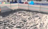 Polak na plaży - parawanowe królestwo