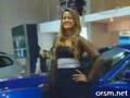 Ukryta kamera - samochodowy pokaz