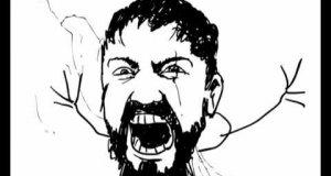 Leonidas vs Chuck Norris