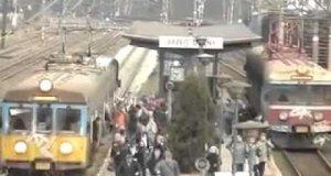 Upakowany pociąg