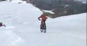 Zjazd na rowerze