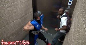 Mortal Kombat w blokowej windzie