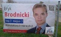 Eryk Brodnicki - Kandydat, który sam chyba nie wie co robi