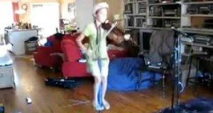 Nietypowa gra na skrzypcach