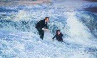 Romantyczne oświadczyny nad wodą