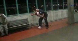 Ostra interwencja policjanta