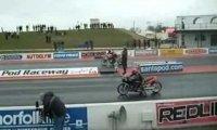 Podwójna porażka na wyścigach motocyklowych