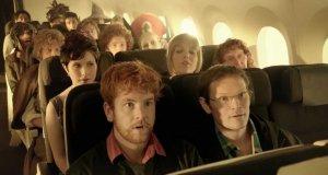 Hobbit w Samolocie