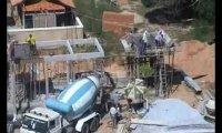 Afrykańscy pracownicy budowlani