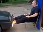 Człowiek o najsilniejszych nogach w Rosji