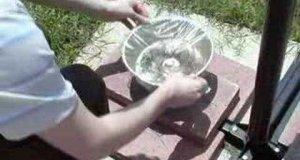 Słoneczny filtr wody - Instruktaż