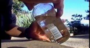 Balansowanie butelkami