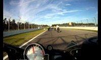 Motocykl z bliska