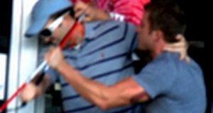 Żart z niewidomym - wpadka