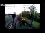 Zabawa podczas jazdy pociągiem
