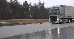 Hamulce przyszłości w ciężarówce VOLVO