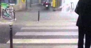 Wodospad w mieście