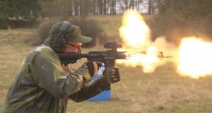 Ile strzałów trzeba oddać by karabin zaczął się topić?