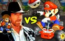 Chuck Norris vs Mario Kart