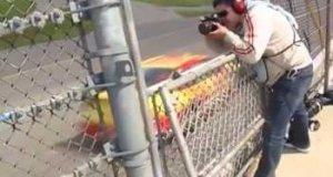 Fotografowanie samochodów Nascar przy 320 km/h