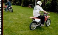 Mini Kompilacja - Wpadki motocyklowe   VPL