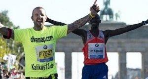 Idiota psuje rekord świata w maratonie 42km